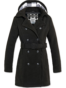 f8082b9314e3 Damen-Trenchcoats in Schwarz  Shoppe bis zu −81%   Stylight