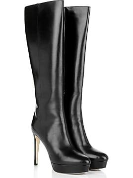 Boots   Booties - Mara 115 Shiny Grainy Leather Platform Boot Black - in  schwarz für d5ebd074ef