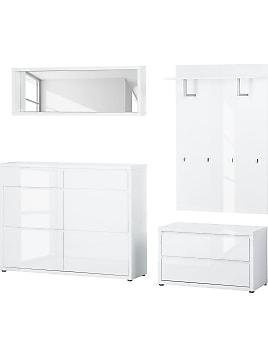 garderoben in wei 458 produkte sale bis zu 15 stylight. Black Bedroom Furniture Sets. Home Design Ideas