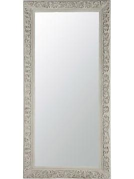 miroir en bois beige gris h 180 cm alinor