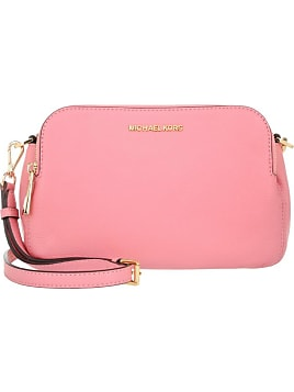 30e88623c26e Tasche - Bedford MD Double Zip Messenger Misty Rose - in pink, rosa, beige