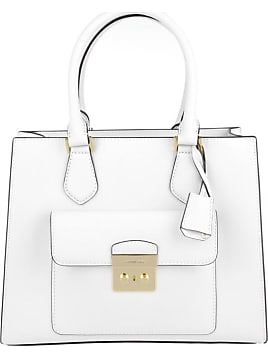 d0a9cdfa0f86 Tasche - Bridgette MD EW Saffiano Leather Tote Optic White - in weiß -  Henkeltasche für