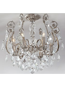Chandeliers now up to 60 stylight mini chandelier flush mount light fixture neiman marcus mozeypictures Choice Image