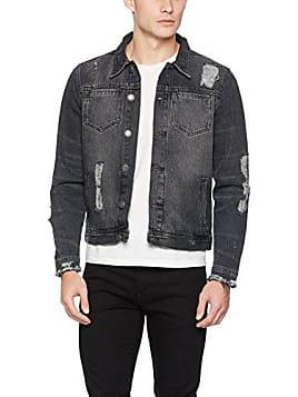 Giubbotto di jeans oversize uomo