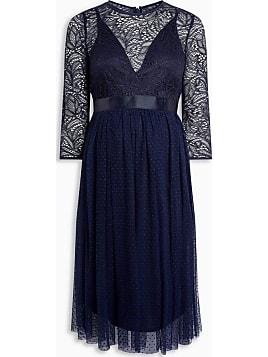 Elegante kleider royalblau