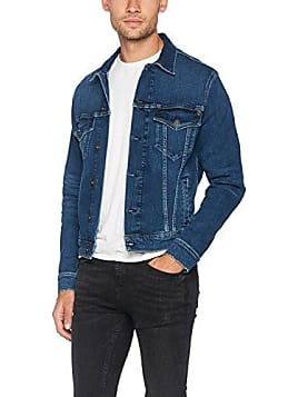 Giubbotto jeans uomo grigio