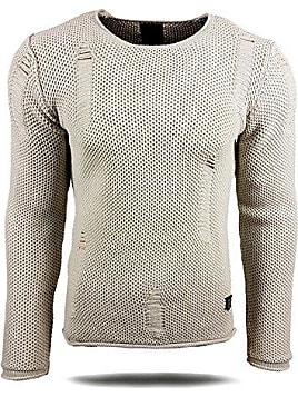 Herren Pullover RN13249 Grobstrick Strick Strickjacke Pulli Sweatshirt  Sweat Neu, Größe XXL Farbe 30e1d2a7c3