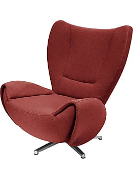 Designersessel Tom   Webstoff   Rot, Tom Tailor
