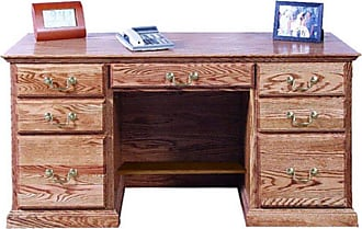Forest Designs Customizable Traditional 1144 Computer Desk - 1144-T