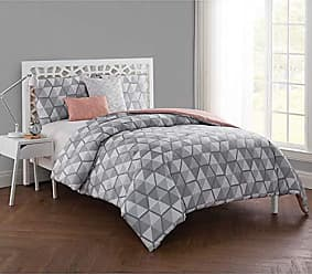 VCNY Home VCNY Home Brynley 5 Piece Comforter Set, King, Grey
