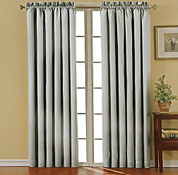 Ellery Homestyles Eclipse 42 x 84 Insulated Darkening Single Panel Rod Pockets Window Treatment Living Room, Gray