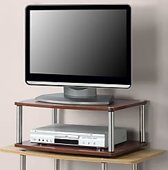 Convenience Concepts Designs2Go 2-Tier Swivel TV Stand - 191024CH
