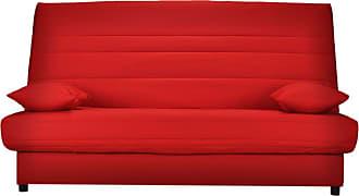 Canapes 2 Places En Rouge 22 Produits Soldes Jusqu A