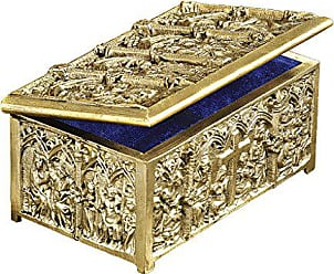 Design Toscano Solid Brass Cathedral Reliquary Box