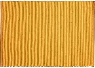 Baumwolle 35 x 46 cm LINUM Uni Tischset Apfelgr/ün
