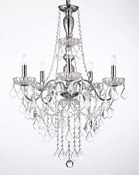 Harrison Lane J2-1129 5 Light 22-1/2 Wide Crystal Chandelier Chrome