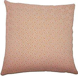 The Pillow Collection Reijo Geometric Bedding Sham Orange King/20 x 36