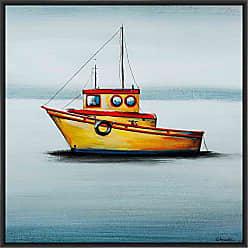 Ptm Images 9-13637 Ships AHOY III, Canvas Wall Art, Black