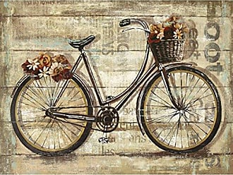 Portfolio Canvas Decor Canvas Print Wall Art - Wheels II - 30x40 by Sandy Doonan Stretched and Wrapped, Ready to Hang