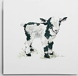 WEXFORD HOME Carol Robinsons Baby Goat Gallery Wrapped Canvas Wall Art, 16x16