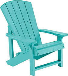 C.R. Plastic Products C08 Turquoise Kids Adirondack Chair