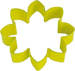 CybrTrayd R&M Daisy Durable Cookie Cutter, 3.5-Inch, Yellow, Bulk Lot of 12