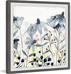 Marmont Hill Layered Gardens II Framed Wall Art - MH-WAG-2283-GWFPFL-12