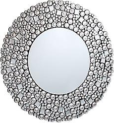 Elegant Furniture & Lighting Modern Wall Mirror - 35.5 diam. in. - MR-3063