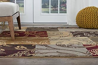 Tayse Reagan Transitional Floral Multi-Color Rectangle Area Rug, 8 x 10