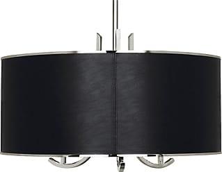 Robert Abbey Lighting Store Francesco BLK Leather Pendant Francesco 25 Pendant with