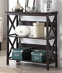 Convenience Concepts Oxford 3-Tier Bookcase, Espresso
