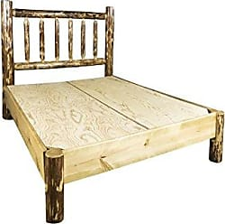 Montana Woodworks MWGCPBCAK Glacier Country Collection Platform Bed, California King