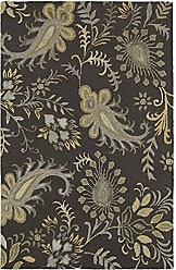 L.R. Resources Inc. GLAMO06013SMG5079 Glamour LR06013-SMG5079 Smoke Gray Rectangle 5 X 7 ft 9 inch Indoor Area Rug, 5 x 79