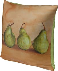 Kavka Designs Trio of Pears Accent Pillow, Size: 16 x 16 - IDP-DI16-16X16-JAY054