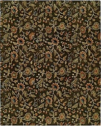 Kalaty NM-061 23 Newport Mansions Area Rug, 2 x 3, Chateau Brown