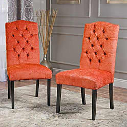 Christopher Knight Home 295078 Crown Dining Chair, Burnt Orange