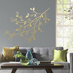 RoomMates Gold Branch Wall Decals - RMK3547GM