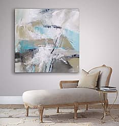 WEXFORD HOME Perdendicular Gallery Wrapped Canvas Wall Art, 24x24