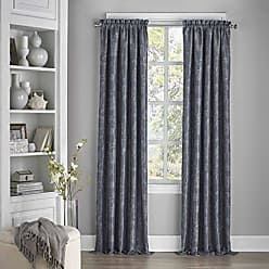 Ellery Homestyles ECLIPSE Blackout Curtains for Bedroom-Mallory 52 x 84 Insulated Darkening Single Panel Grommet Top Window Treatment Living Room, Midnight