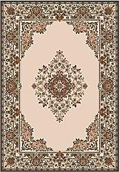 Milliken Carpet Pastiche Collection Merkez Octagon Area Rug, 77 x 77, Sand