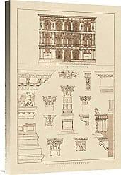 Bentley Global Arts Global Gallery Budget GCS-394593-1624-142 J. Buhlmann Palazzo Vendramin-Calergi at Venice Gallery Wrap Giclee on Canvas Wall Art Print