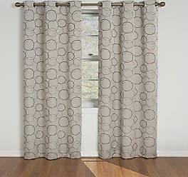Ellery Homestyles Eclipse 42 x 108 Insulated Darkening Single Panel Grommet Top Window Treatment Living Room, Linen