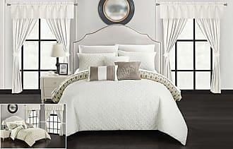 Chic Home Sigal Comforter Set 20 Piece - Beige - Size: Queen