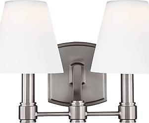 Feiss Leddington 2 - Light LED Vanity in Satin Nickel