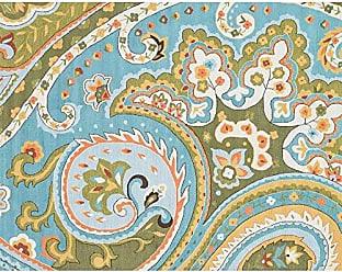 Loloi Rugs Loloi FRACFC-09BBGR7696 Francesca Area Rug, 7-6 by 9-6, Blue/Green