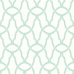 RoomMates Trellis Peel and Stick Wallpaper Blue - RMK9120WP