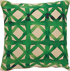 Jaipur Living Rugs Verdigris Diamond Trellis Indoor Throw Pillow - PLW102808