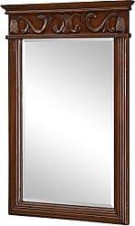 Elegant Lighting Elegant Decor VM-1007 Danville Traditional Mirror, 25, Brown