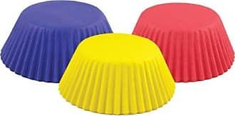 Fox Run Craftsmen Fox Run 6903 Everyday Primary Colors Bake Cup Set, Red/Blue/Yellow