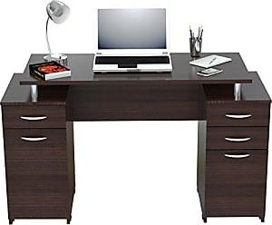 Inval America ES-0403 Computer Desk, Espresso